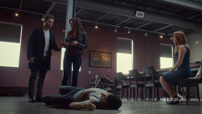 Private Eyes 01x02 : Mise En Place- Seriesaddict